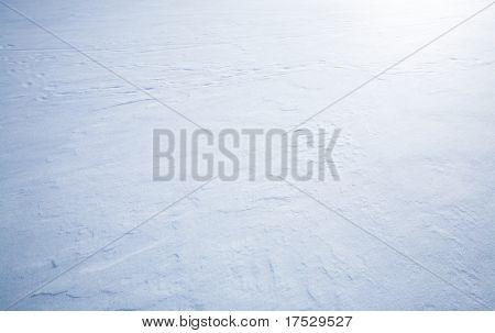 A wind blown snow background texture