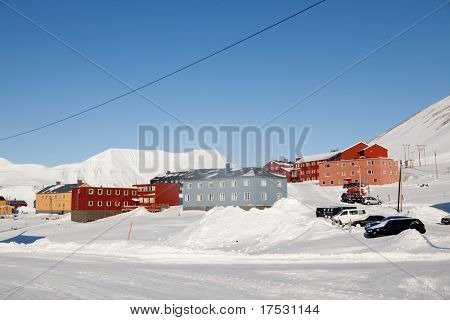 Longyearbyen, Norway, the worlds northern most city.