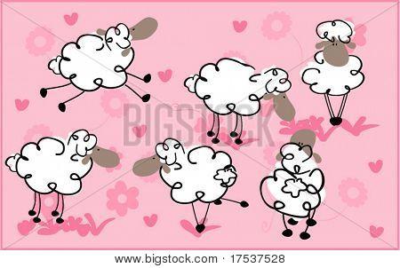 Schafe in der Liebe