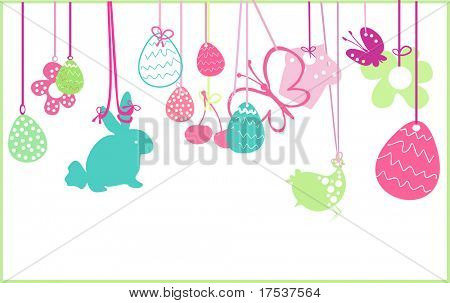 hanging easter ornaments