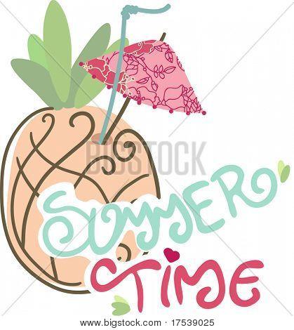 Piña cóctel - horario de verano