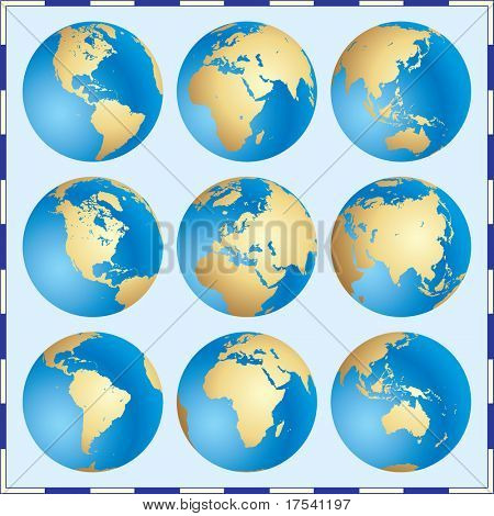 Raster version of vector Global Set
