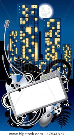 Vector Cyber City banner