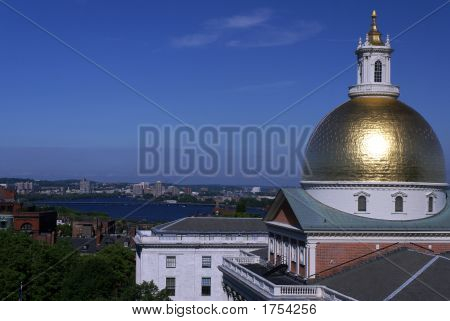 Morning Massachusetts State House