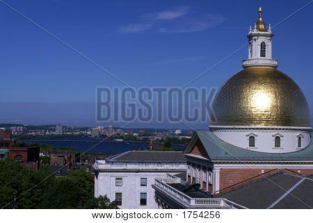 Morning Massachusetts State House