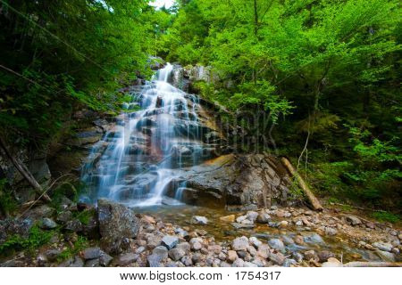 Cloudland Falls, Falling Waters Trail, Franconia Ridge, White Mtns,
