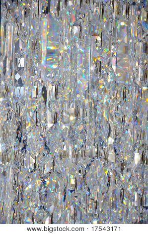 Transparent glass jewelry pattern