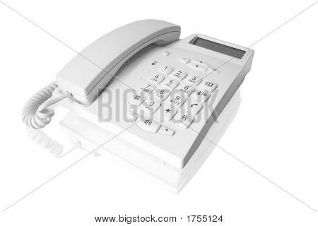 Telefone branco