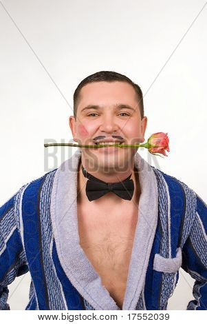 """tough young man playing """"machismo"""""""