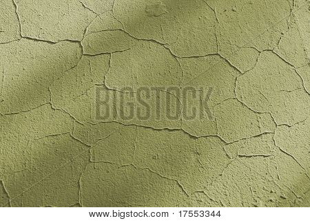 Dried greenish texture with cracks