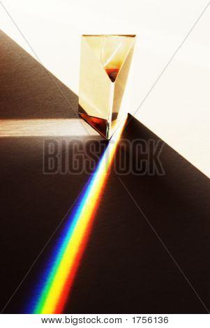 Ilustrando la refracción del prisma