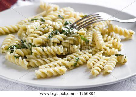 Fusilli With Pesto