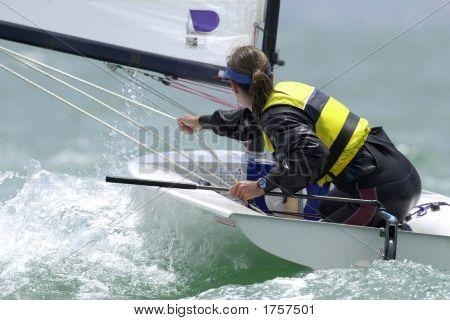 Sailing Woman 001