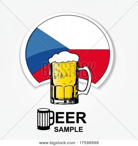 czech national beer web element