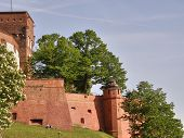Wawel. Krakow. An Ancient Part Of City. poster