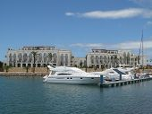 picture of vilamoura  - Beautiful view of the Vilamoura marina in Portugal - JPG