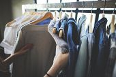 Clothes Shop Costume Dress Fashion Store Style Concept poster