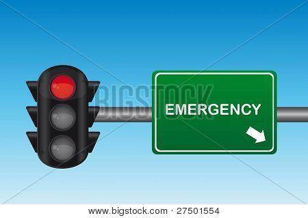 vetor de semáforo