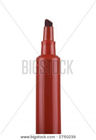 Red Marker Pen