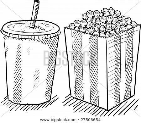 Movie concessions sketch