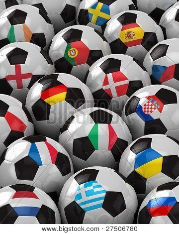 Europäischer Fussball 2012