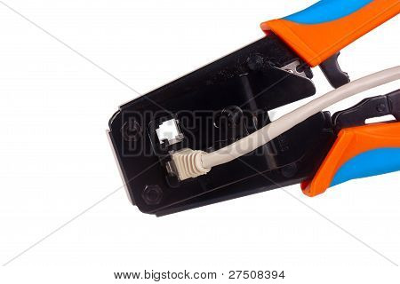 Network Cable Crimper
