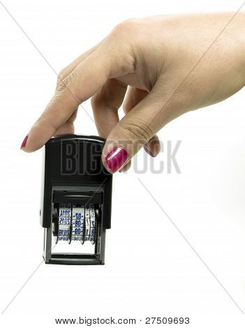 Automatic Date Stamp When Printing From A Female Model