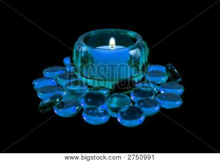0_Blue Candle_Beads