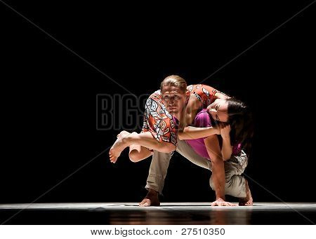 Contact Improvisation ( intimate relationships)