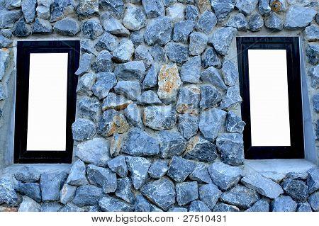 Window On Stone Wall