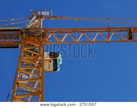 Look Up At The Crane.