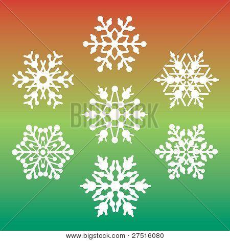 Seven Snowflakes