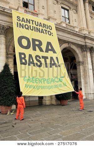 Italian greenpeace