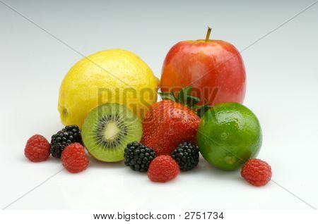 Mixed Ripe Fresh Fruit
