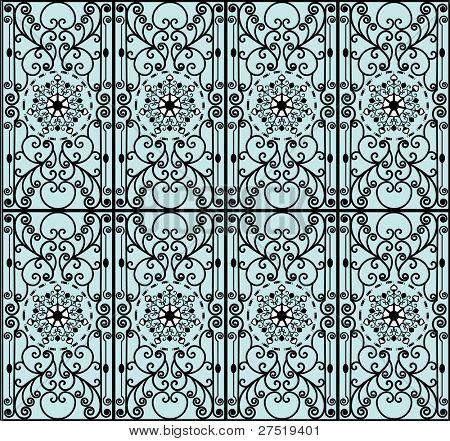 intricate wrought iron design