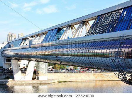 Ponte Bagration em Moscou