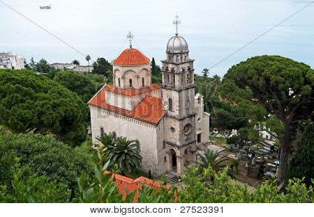 Savina Monastery Is A Serb Orthodox Monastery Near The City Herceg Novi, Montenegro. Probably Comes