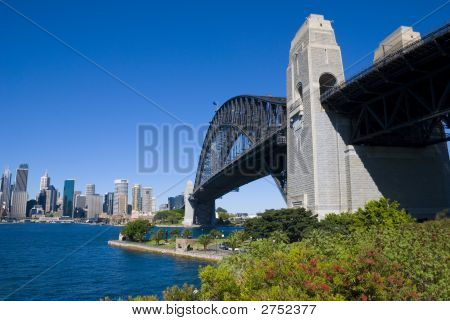Sydney Harbor Bridge City