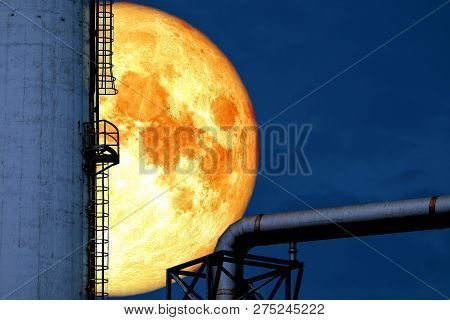 Super Blood Moon Back Over