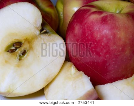 Apples, Slices, & Halves,