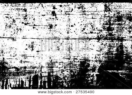 Vector Distressed Grunge Overlay.