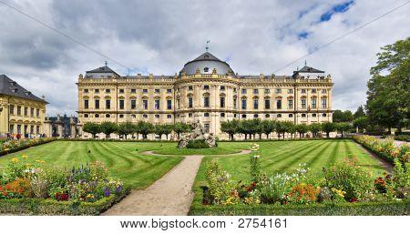 Residenz Palace In Wurzburg, Germany