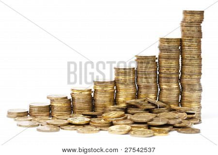 Stacks Of Coins In A Success Graph