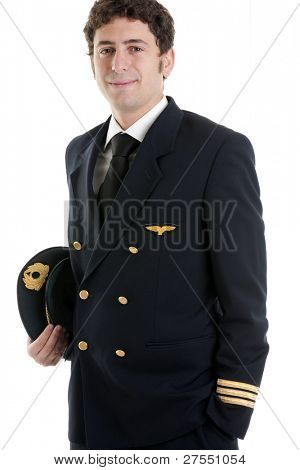 Portrait of a airline pilot/captain