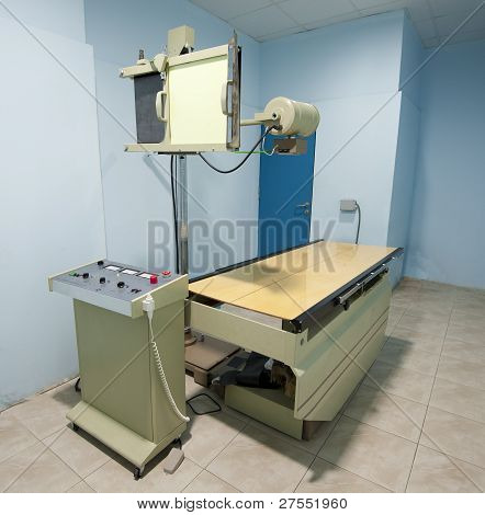 X-ray Machine In A Hospital Surgery