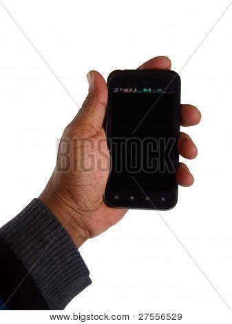 Smart Phone en la mano