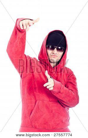 Hip Hop Dancer Pointing At You