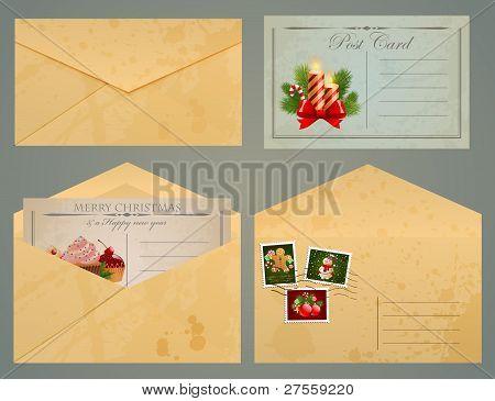 Christmas Vintage Post.