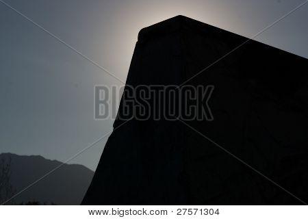silhouette quarter pipe