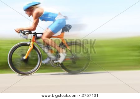 Bicycle Race, Motion Blur